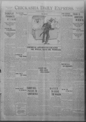 Primary view of Chickasha Daily Express. (Chickasha, Okla.), Vol. FOURTEEN, No. 216, Ed. 1 Wednesday, September 10, 1913