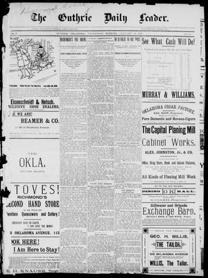 The Guthrie Daily Leader. (Guthrie, Okla.), Vol. 2, No. 49, Ed. 1, Wednesday, January 31, 1894