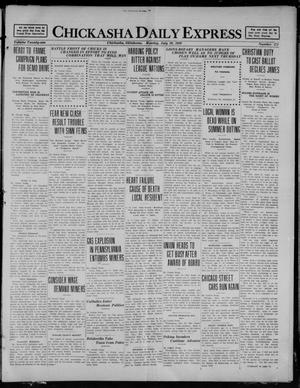 Primary view of object titled 'Chickasha Daily Express (Chickasha, Okla.), Vol. 21, No. 171, Ed. 1 Monday, July 19, 1920'.