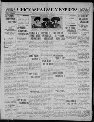 Primary view of object titled 'Chickasha Daily Express (Chickasha, Okla.), Vol. 21, No. 129, Ed. 1 Saturday, May 29, 1920'.
