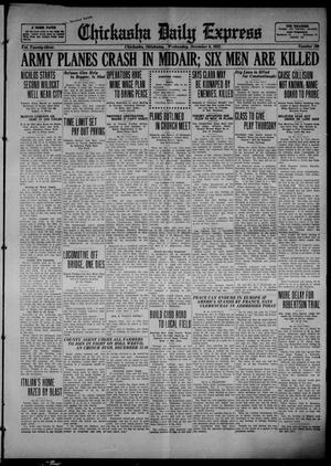 Primary view of object titled 'Chickasha Daily Express (Chickasha, Okla.), Vol. 23, No. 199, Ed. 1 Wednesday, December 6, 1922'.
