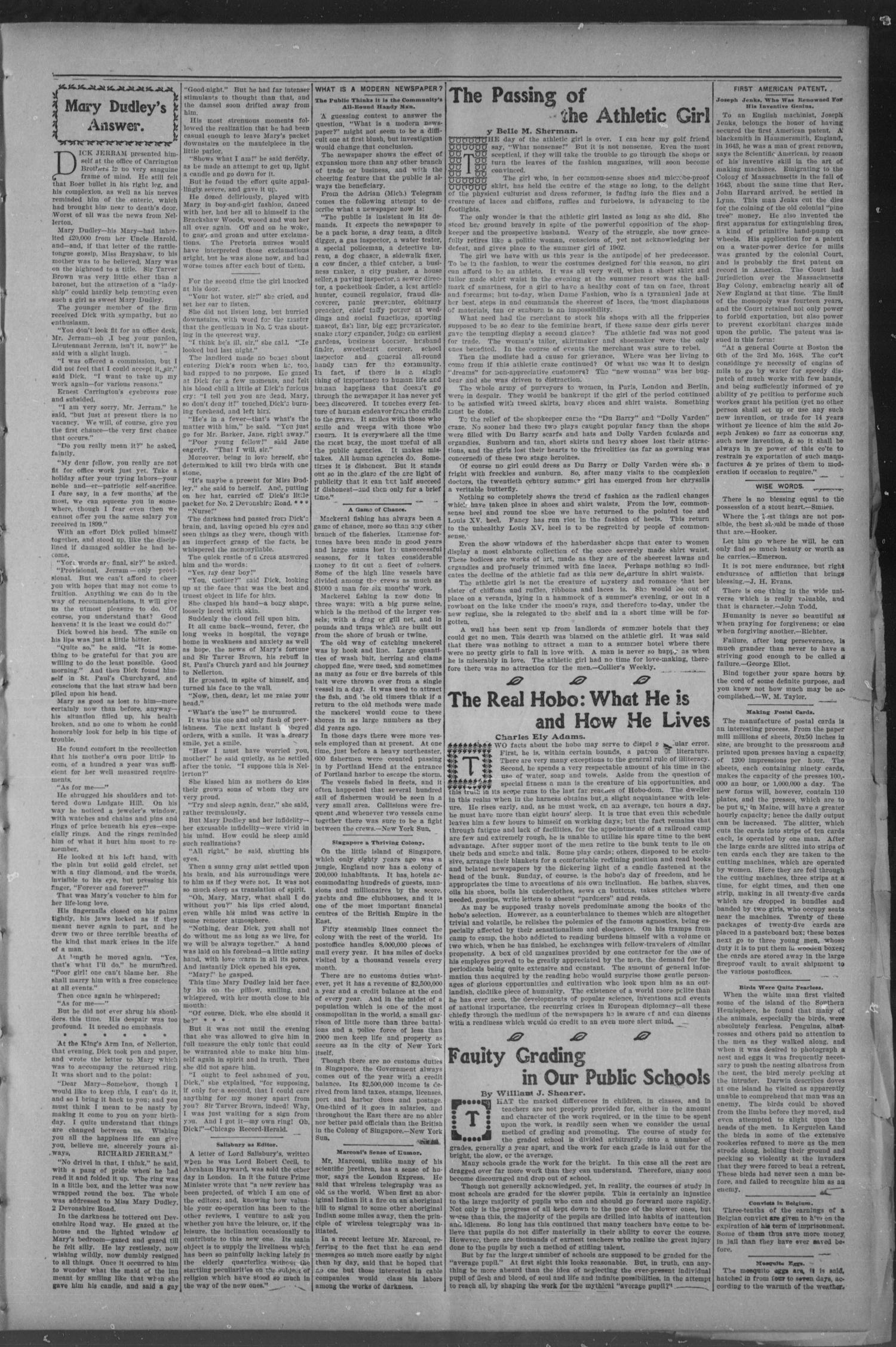 Chickasha Daily Express. (Chickasha, Indian Terr.), Vol. 14, No. 112, Ed. 1 Thursday, May 11, 1905                                                                                                      [Sequence #]: 3 of 8