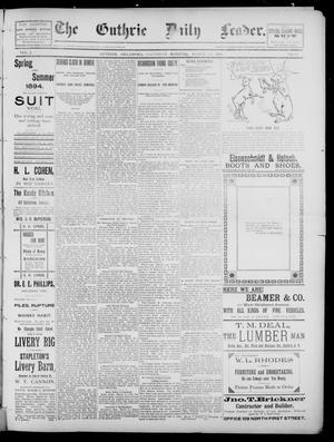 The Guthrie Daily Leader. (Guthrie, Okla.), Vol. 2, No. 86, Ed. 1, Saturday, March 17, 1894