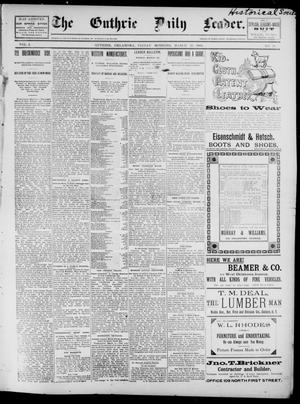 The Guthrie Daily Leader. (Guthrie, Okla.), Vol. 2, No. 91, Ed. 1, Friday, March 23, 1894