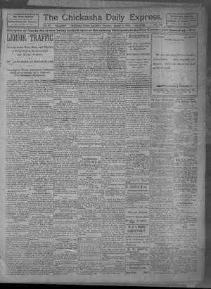 Primary view of object titled 'The Chickasha Daily Express (Chickasha, Indian Terr.), Vol. 10, No. 178, Ed. 1 Tuesday, August 6, 1901'.