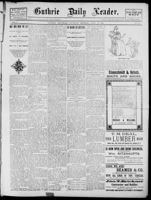 Primary view of object titled 'The Guthrie Daily Leader. (Guthrie, Okla.), Vol. 2, No. 120, Ed. 1, Thursday, April 26, 1894'.