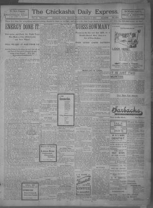 Primary view of object titled 'The Chickasha Daily Express (Chickasha, Indian Terr.), Vol. 10, No. 203, Ed. 1 Thursday, September 5, 1901'.