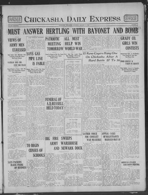 Primary view of Chickasha Daily Express (Chickasha, Okla.), Vol. 19, No. 23, Ed. 1 Saturday, January 26, 1918
