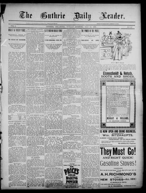 Primary view of object titled 'The Guthrie Daily Leader. (Guthrie, Okla.), Vol. 2, No. 147, Ed. 1, Sunday, May 27, 1894'.