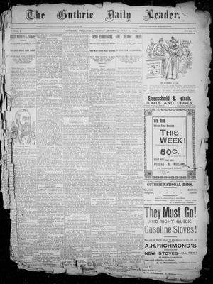 The Guthrie Daily Leader. (Guthrie, Okla.), Vol. 2, No. 158, Ed. 1, Friday, June 8, 1894