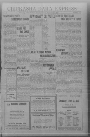 Chickasha Daily Express. (Chickasha, Indian Terr.), Vol. 8, No. 221, Ed. 1 Saturday, September 21, 1907