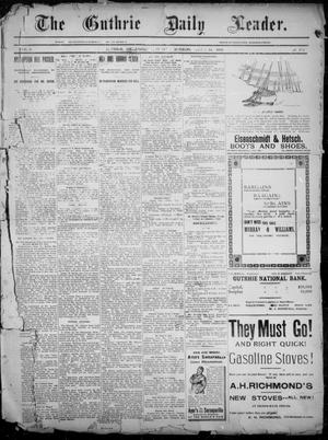 The Guthrie Daily Leader. (Guthrie, Okla.), Vol. 2, No. 172, Ed. 1, Sunday, June 24, 1894