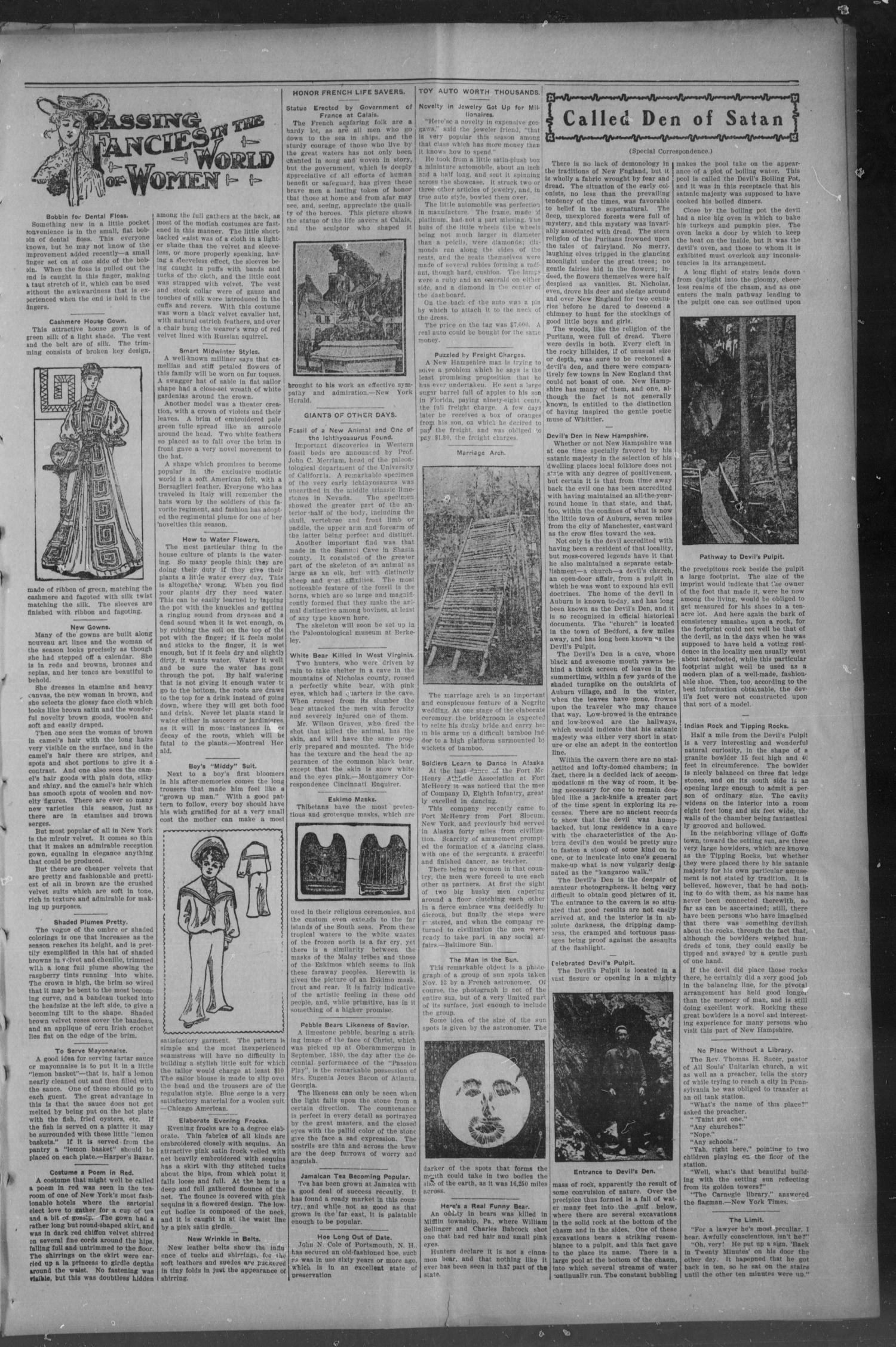 The Daily Express. (Chickasha, Indian Terr.), Vol. 14, No. 27, Ed. 1 Wednesday, February 1, 1905                                                                                                      [Sequence #]: 3 of 8