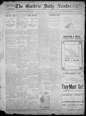 The Guthrie Daily Leader. (Guthrie, Okla.), Vol. 2, No. 177, Ed. 1, Saturday, June 30, 1894