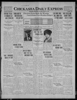 Primary view of Chickasha Daily Express (Chickasha, Okla.), Vol. 21, No. 242, Ed. 1 Saturday, October 9, 1920