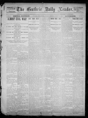 Primary view of object titled 'The Guthrie Daily Leader. (Guthrie, Okla.), Vol. 2, No. 186, Ed. 1, Friday, July 13, 1894'.