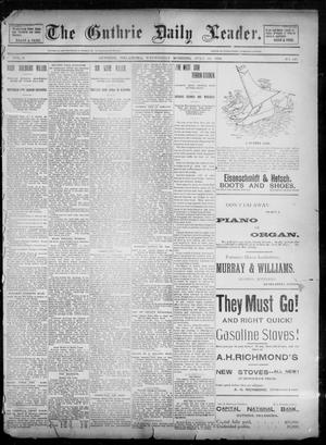 Primary view of object titled 'The Guthrie Daily Leader. (Guthrie, Okla.), Vol. 2, No. 190, Ed. 1, Wednesday, July 18, 1894'.