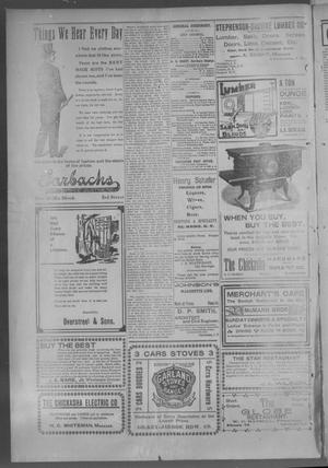 Primary view of object titled 'The Chickasha Daily Express. (Chickasha, Indian Terr.), Vol. 2, No. 259, Ed. 1 Monday, October 7, 1901'.