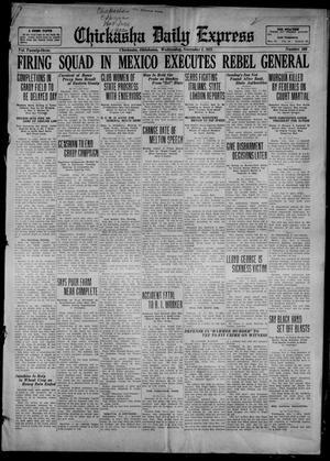 Primary view of Chickasha Daily Express (Chickasha, Okla.), Vol. 23, No. 169, Ed. 1 Wednesday, November 1, 1922