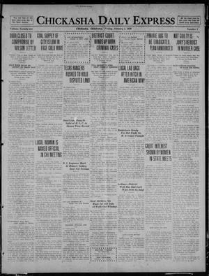 Primary view of object titled 'Chickasha Daily Express (Chickasha, Okla.), Vol. 21, No. 8, Ed. 1 Friday, January 9, 1920'.