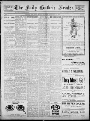 The Guthrie Daily Leader. (Guthrie, Okla.), Vol. 3, No. 240, Ed. 1, Friday, September 14, 1894
