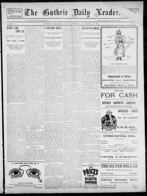 The Guthrie Daily Leader. (Guthrie, Okla.), Vol. 3, No. 246, Ed. 1, Friday, September 21, 1894
