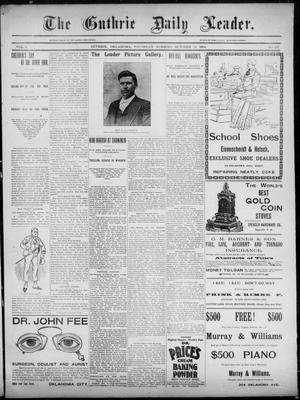 The Guthrie Daily Leader. (Guthrie, Okla.), Vol. 3, No. 237, Ed. 1, Thursday, October 11, 1894