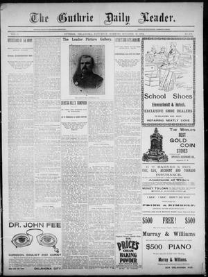 The Guthrie Daily Leader. (Guthrie, Okla.), Vol. 3, No. 239, Ed. 1, Saturday, October 13, 1894