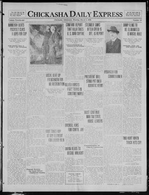 Primary view of object titled 'Chickasha Daily Express (Chickasha, Okla.), Vol. 21, No. 58, Ed. 1 Monday, March 8, 1920'.