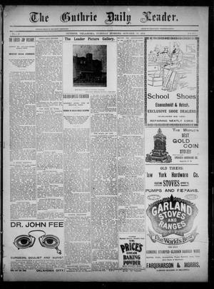 The Guthrie Daily Leader. (Guthrie, Okla.), Vol. 3, No. 253, Ed. 1, Tuesday, October 30, 1894
