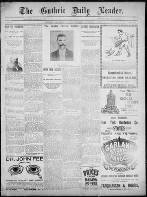 The Guthrie Daily Leader. (Guthrie, Okla.), Vol. 3, No. 263, Ed. 1, Sunday, November 4, 1894