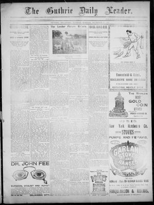 Primary view of object titled 'The Guthrie Daily Leader. (Guthrie, Okla.), Vol. 3, No. 264, Ed. 1, Tuesday, November 6, 1894'.