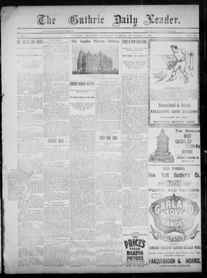 The Guthrie Daily Leader. (Guthrie, Okla.), Vol. 3, No. 268, Ed. 1, Saturday, November 10, 1894