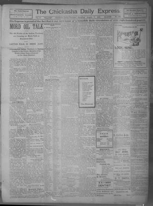Primary view of object titled 'The Chickasha Daily Express (Chickasha, Indian Terr.), Vol. 10, No. 188, Ed. 1 Saturday, August 17, 1901'.
