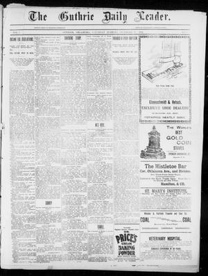 Primary view of object titled 'The Guthrie Daily Leader. (Guthrie, Okla.), Vol. 5, No. 13, Ed. 1, Saturday, December 15, 1894'.