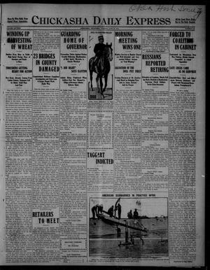 Primary view of Chickasha Daily Express (Chickasha, Okla.), Vol. SIXTEEN, No. 178, Ed. 1 Tuesday, June 22, 1915