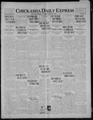 Primary view of object titled 'Chickasha Daily Express (Chickasha, Okla.), Vol. 21, No. 294, Ed. 1 Friday, December 10, 1920'.