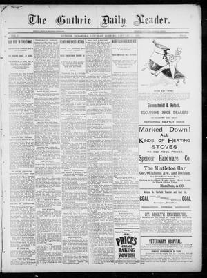 The Guthrie Daily Leader. (Guthrie, Okla.), Vol. 5, No. 29, Ed. 1, Saturday, January 5, 1895