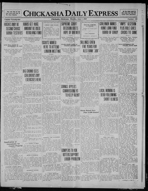 Chickasha Daily Express (Chickasha, Okla.), Vol. 21, No. 136, Ed. 1 Monday, June 7, 1920
