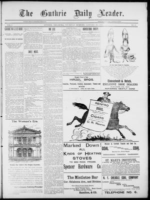 The Guthrie Daily Leader. (Guthrie, Okla.), Vol. 5, No. 45, Ed. 1, Thursday, January 24, 1895