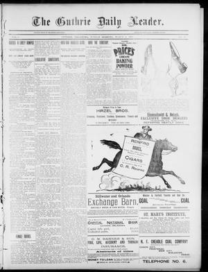 The Guthrie Daily Leader. (Guthrie, Okla.), Vol. 5, No. 77, Ed. 1, Sunday, March 3, 1895