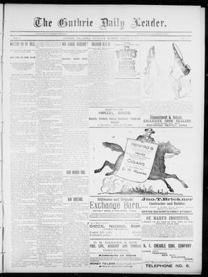 The Guthrie Daily Leader. (Guthrie, Okla.), Vol. 5, No. 80, Ed. 1, Thursday, March 7, 1895