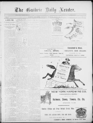 Primary view of object titled 'The Guthrie Daily Leader. (Guthrie, Okla.), Vol. 5, No. 94, Ed. 1, Saturday, March 23, 1895'.