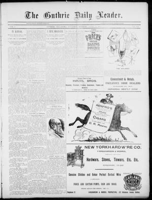 The Guthrie Daily Leader. (Guthrie, Okla.), Vol. 5, No. 104, Ed. 1, Thursday, April 4, 1895