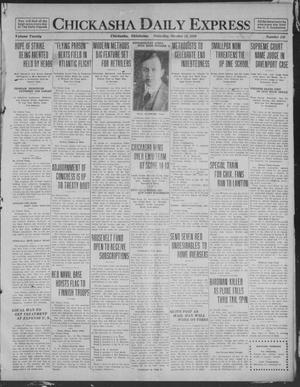 Primary view of object titled 'Chickasha Daily Express (Chickasha, Okla.), Vol. 20, No. 248, Ed. 1 Saturday, October 18, 1919'.