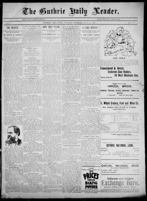 The Guthrie Daily Leader. (Guthrie, Okla.), Vol. 5, No. 155, Ed. 1, Tuesday, June 4, 1895
