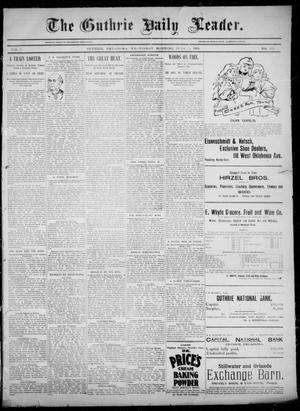 The Guthrie Daily Leader. (Guthrie, Okla.), Vol. 5, No. 156, Ed. 1, Wednesday, June 5, 1895