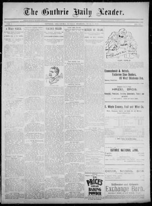 The Guthrie Daily Leader. (Guthrie, Okla.), Vol. 5, No. 160, Ed. 1, Sunday, June 9, 1895