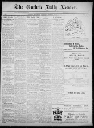 Primary view of object titled 'The Guthrie Daily Leader. (Guthrie, Okla.), Vol. 5, No. 161, Ed. 1, Tuesday, June 11, 1895'.