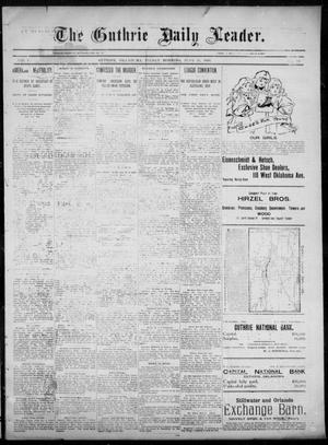 The Guthrie Daily Leader. (Guthrie, Okla.), Vol. 6, No. 14, Ed. 1, Friday, June 21, 1895